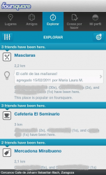 Explorar Foursquare