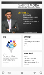 Gabriel Mora en Google Currents